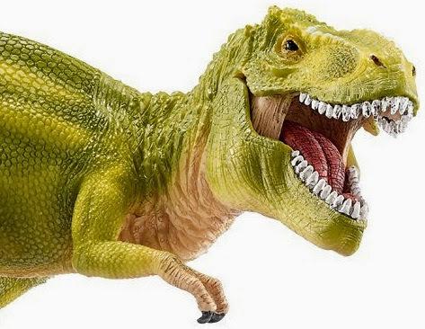 Đồ chơi mô hình Khủng long Tyrannosaurus Rex (xanh nhạt) có hình ảnh chân thực và màu sắc bắt mắt