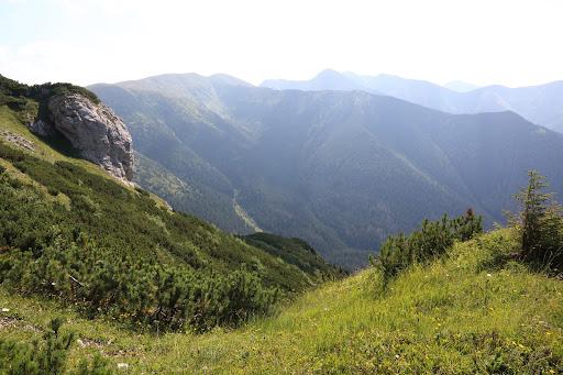 Hlavný hrebeň Roháčov od Sivého vrchu