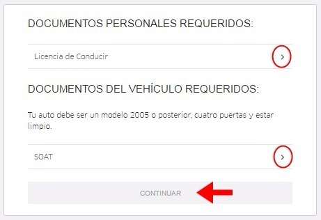 Abrir mi cuenta Uber - 458