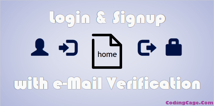 Login Registration with Email Verification, Forgot Password using PHP