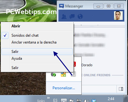 integrar facebook y windows