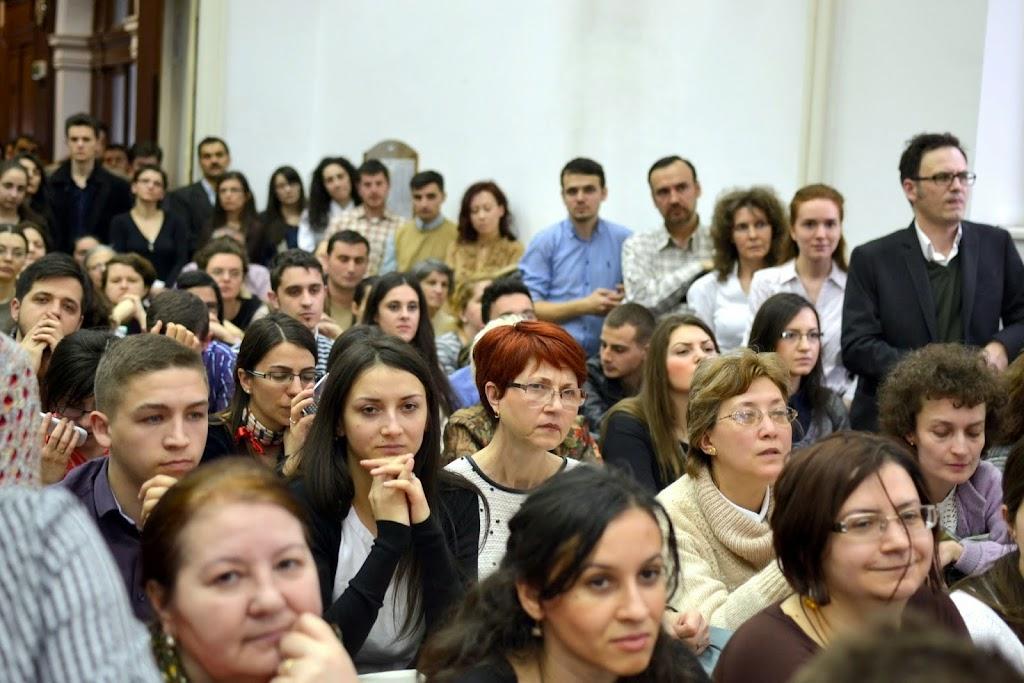 Conferinta Despre martiri cu Dan Puric, FTOUB 028