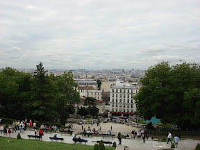 Shot of Paris from that first plateau.