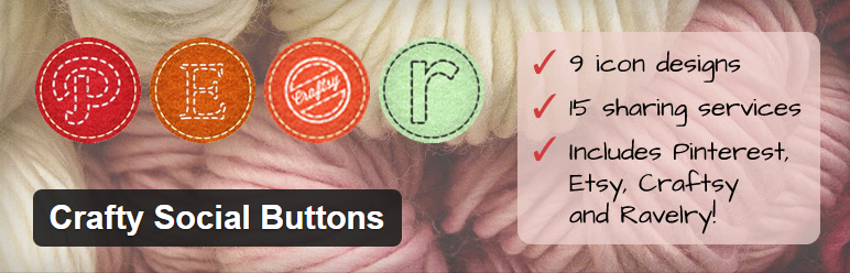 Plugins WordPress: Crafty Social Buttons