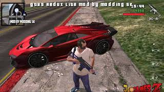 SAIU MELHOR!! GTA V MOD GTA SAN ANDREAS  PARA CELULARES ANDROID EM HD (APK+ DATA) LITE + DOWNLOAD