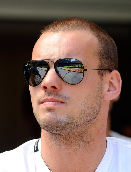 Wesley Sneijder Balding Celebrities