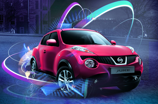 z factory jukelighting le nissan juke illumine paris. Black Bedroom Furniture Sets. Home Design Ideas