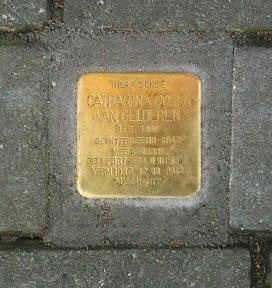 Catharina Cohen van Gelderen - Beltstraat 28a - Stolperstein Enschede.