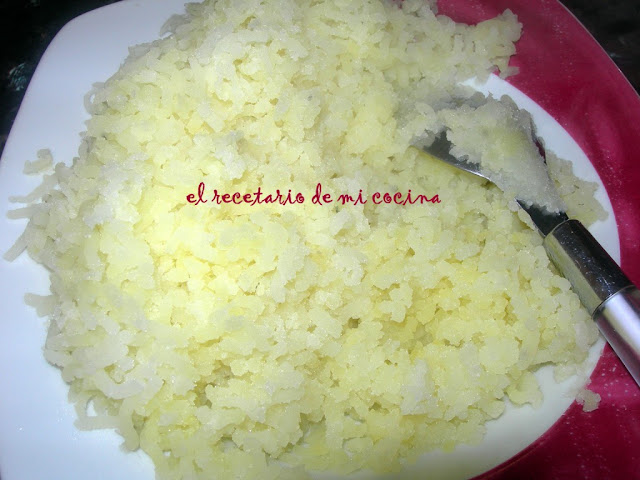 pastel de carne y pure de patatas