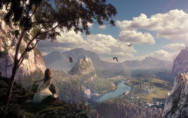 Fly Like A Bird, Magick Lands 3