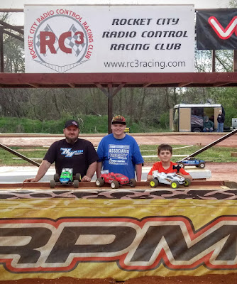 Stadium Truck - 1st: Tyler Schrimsher, 2nd: Freddy Marsh, 3rd: Ethan Radke