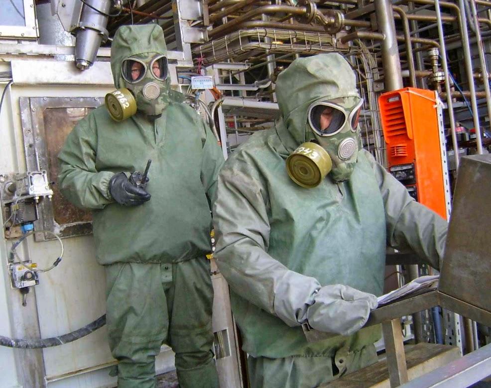 Химическое оружие в России