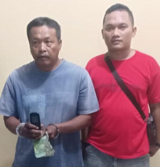 Satu Tahun Sebagai Jurtul KIM, Mul Warga Desa Tualang Ditangkap Tekap Polsek Perbaungan