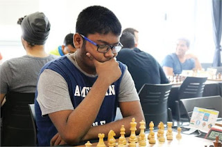 IM Neelesh Saha 16th position online chess tournament