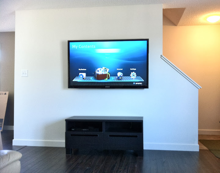 Wall Mounting A Flat Screen Tv Seemed Like Simple And Easy Job