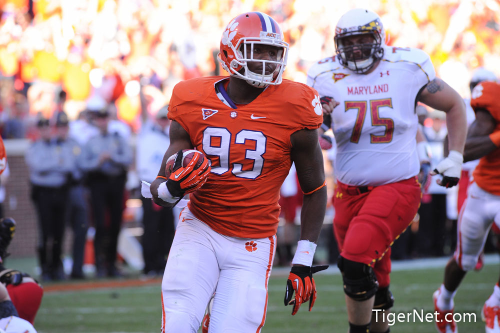 Clemson vs. Maryland Photos - 2012, Corey Crawford, Football, Maryland