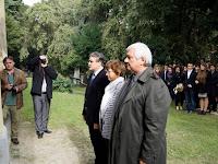 36 A CSEMADOK képviselői- Bárdos Gyula, Molnár Rozália, Görföl Jenő.JPG