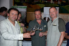 Organizátori a vinár Libor Veverka