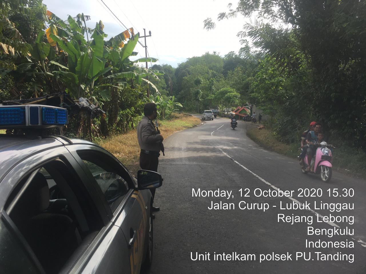 Patroli Polsek Put Di Jalur Lintas Curup Lubuk Linggau