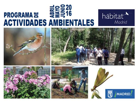 El programa Hábitat Madrid trae cientos de actividades ambientales gratuitas