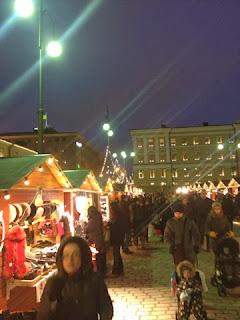 Christmas markets senate square