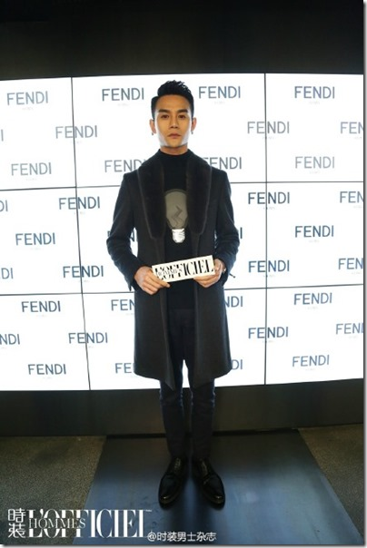 2016.01.18 Wang Kai X Milan Fashion Week AF16 X FENDI 王凱 2016秋冬男裝週 12