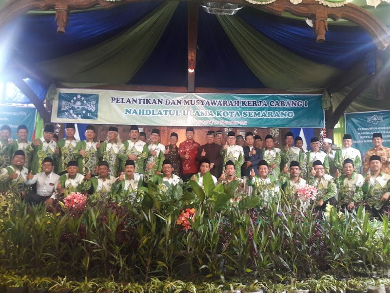 PWNU Jawa Tengah Lantik Pengurus Cabang  Kota Semarang, Ini Pesan Pentingnya
