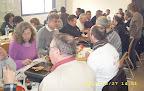 Le repas, très prisé des participants. Un grand moment de convivialité