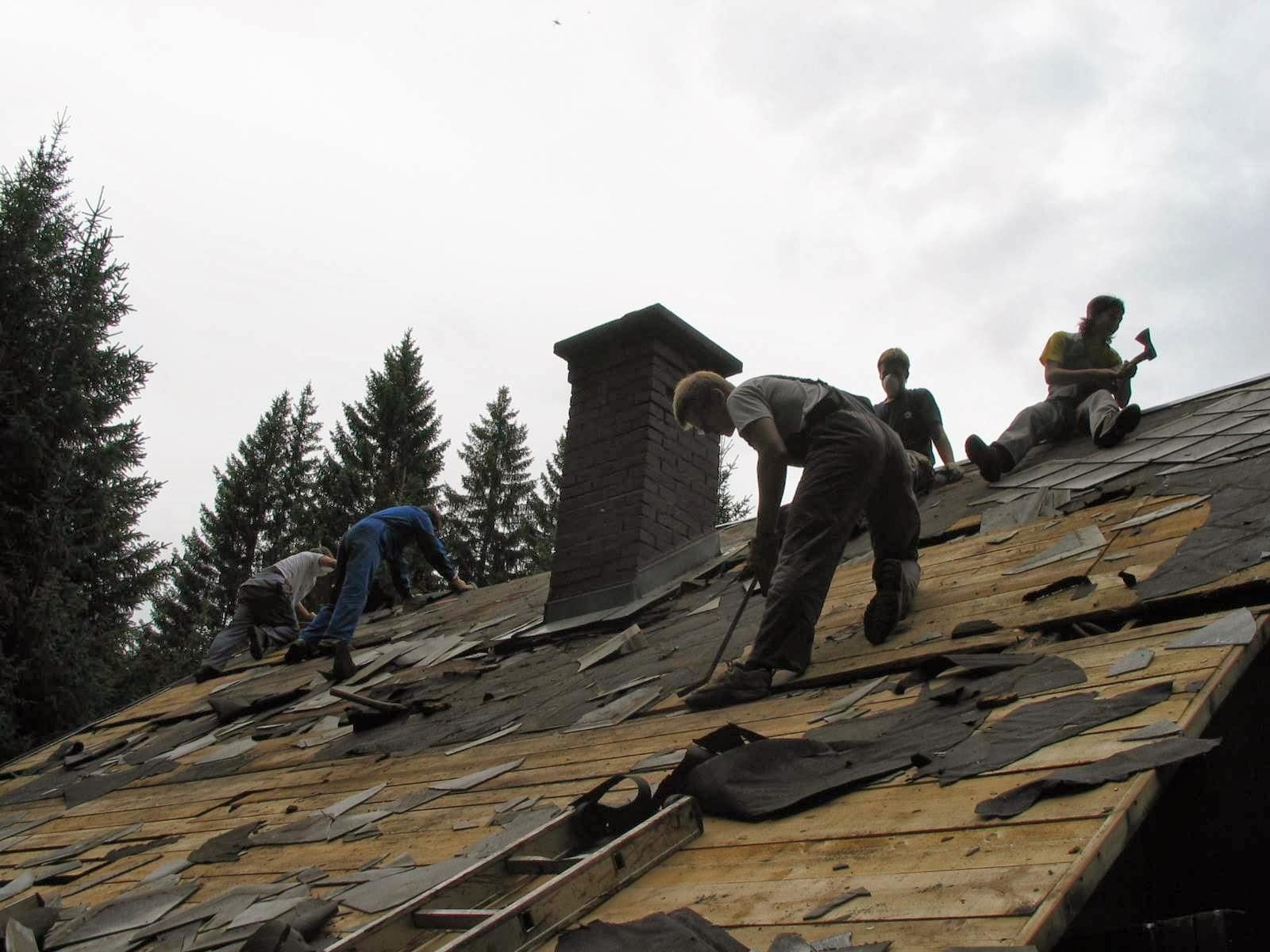 Delovna akcija - Streha, Črni dol 2006 - streha%2B066.jpg