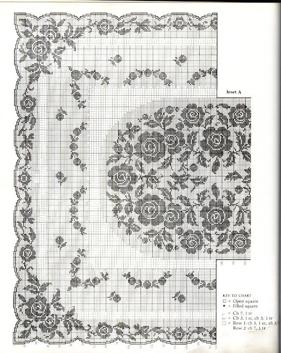 方格花图解(159) - 柳芯飘雪 - 柳芯飘雪的博客