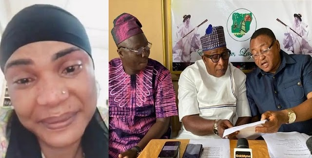 Iyabo Ojo Finally tenders public apology to TAMPAN over her suspension from Nollywood [Video]