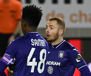 """Sambi Lokonga se rend compte qu'il doit s'imposer comme leader d'Anderlecht: """"J'ai encore des progrès à faire"""""""