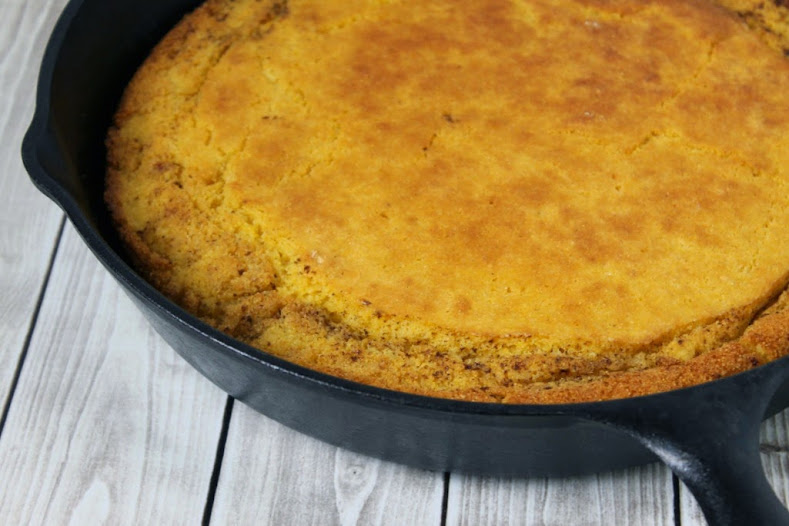 Easy Family Dinner + Skillet Cornbread Recipe