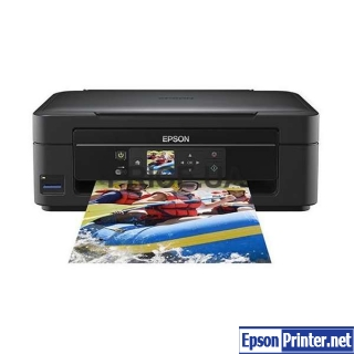 How to reset Epson XP-303 with application