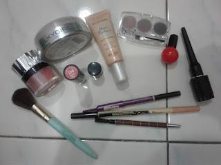 Makeup ringkas dan mudah je