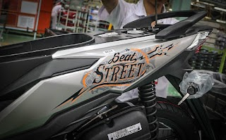 Honda Beat 2019 Stripping Baru Makin Kekinian