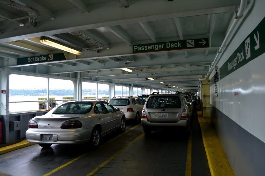 Паром в Национальный парк Олимпик. (Ferry to Olympic National Park, WA)