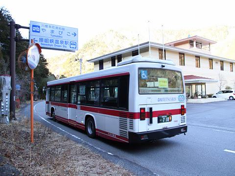 大井川鉄道 路線バス ・718 接岨峡温泉にて