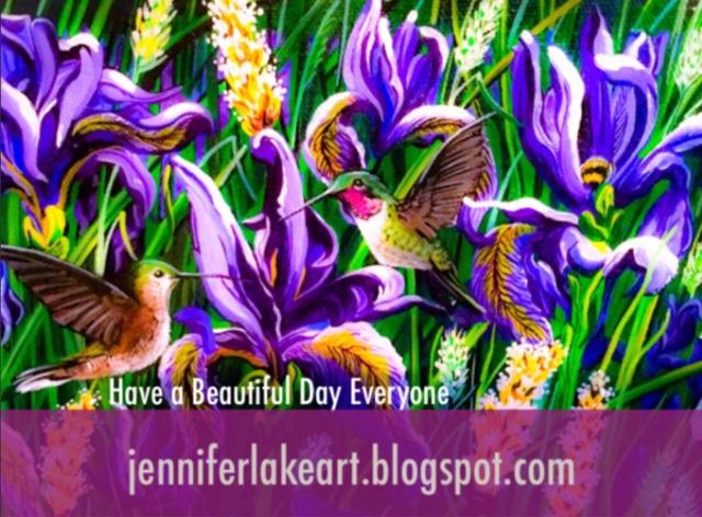 Jennifer Lake Art Have A Wonderful Wednesday