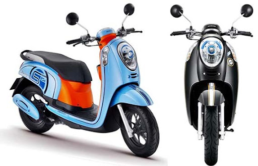 FOTO NEW HONDA SCOOPY FI Model Motor Terbaru