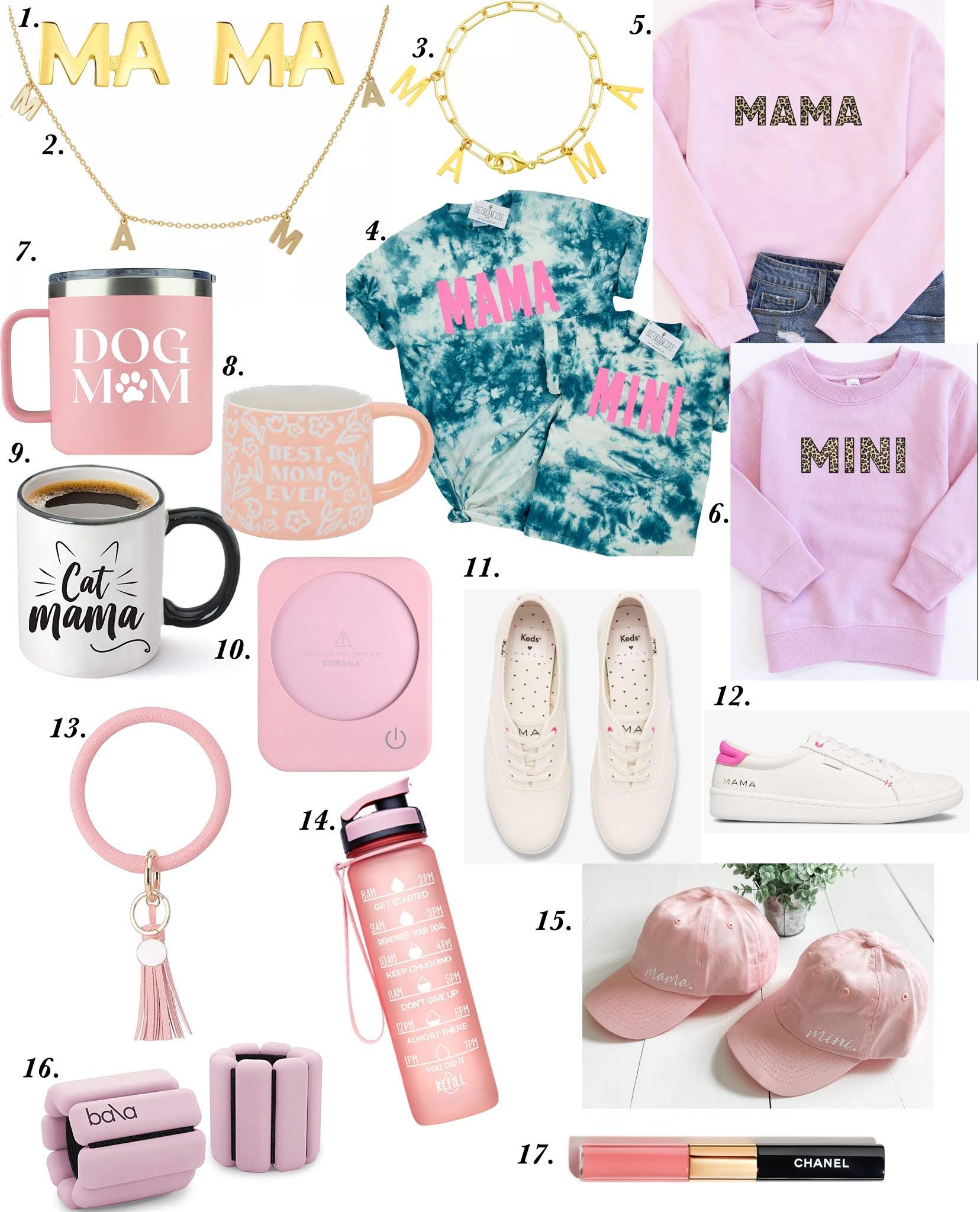 Mother's Day Favorites & Gift Ideas - Something Delightful Blog #MothersDay #GiftsforMoms #MamaItems #MamaSweatshirt #ItemsforMomLife