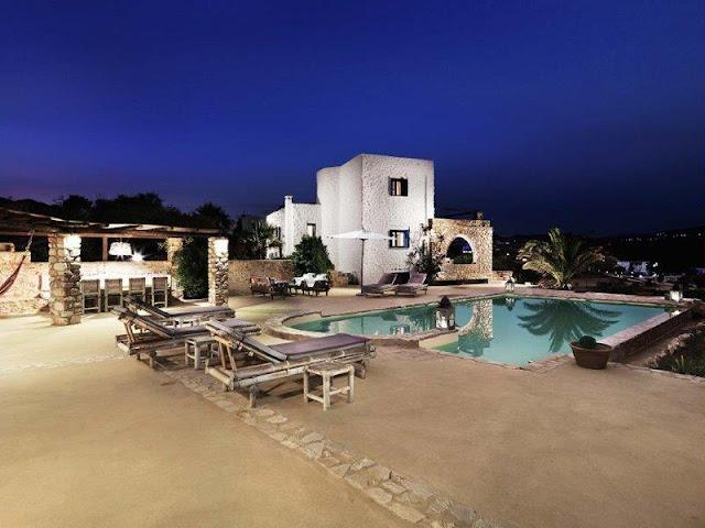 Villa Icarus, Paros