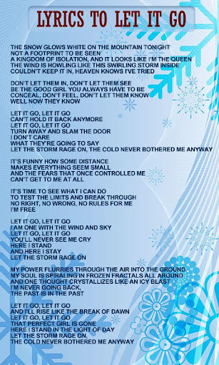Princess Frozen World Lyrics