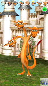 Talking 3 Headed Dragon screenshot 0
