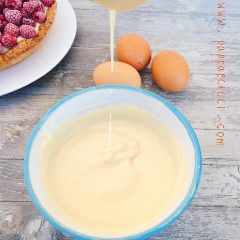 Crema Pasticcera con panna da cucina - Pappaecicci