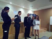 Entrega de Diplomas de la Policía Nacional
