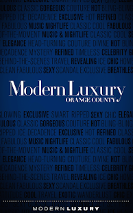 Modern Luxury Orange County- screenshot thumbnail