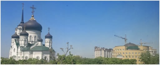 Не случайно ведь и новый Воронежский областной суд построен у стен нового кафедрального Благовещенского собора