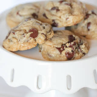 Healthier Whole Wheat Chocolate Chip Cookies.