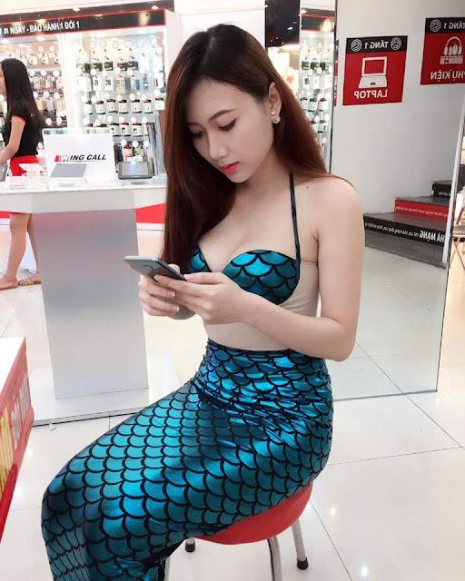 hot girl nguyen thy 11